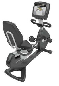 Life Fitness 95R Inspire Recumbent Bike - Cleaned & Serviced