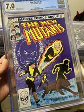 The New Mutants #1 (Mar 1983, Marvel) CGC 7.0