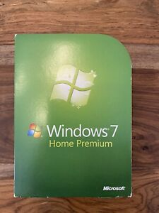 Microsoft Windows 7 Home Premium Operating System
