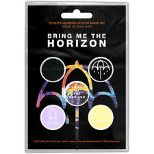Bring Me The Horizon Official Licensed Pin Badge Buttons