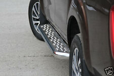 RUNNING BOARDS FOR NISSAN NAVARA 16- STAINLESS STEEL FOR DOUBLE CABIN GUARANTEED