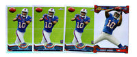 4 count lot 2013 topps chrome Robert Woods Refractor Rookie Cards! L.A. RAMS WR!