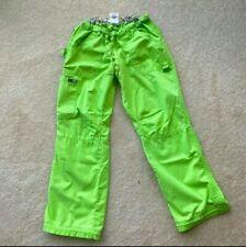 Koi By Kathy Peterson Women's Scrub Cargo Pants Size 2X-Large Lime Green! Nice!