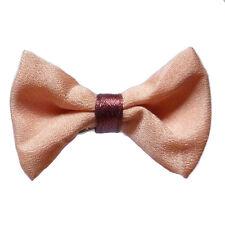petite pince barrette cheveux femme noeud papillon rose saumon rouge bordeaux