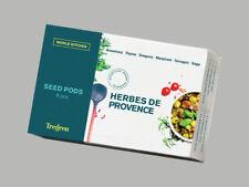 tregren seed pots samenkapseln herbes de provence 6 verschiedene kräuter