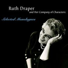 Ruth Draper CDs, NEW, SEALED, lowest price, Selected Monologues