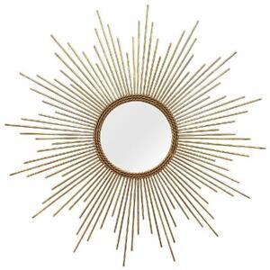 Home Decor Andrea Modern, Stylish, Minimalistic, Wall Mirror (GOLD)