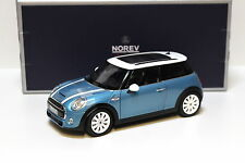 1:18 Norev Mini Cooper S 2015 light blue NEW bei PREMIUM-MODELCARS