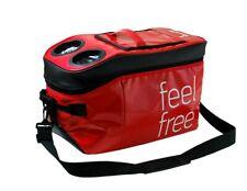 Isabella Feel Free Cooler Bag Red Food and Drinks Camping Caravan Picnic