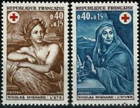 France 1969 Croix-rouge n° 1619 -1620  Neufs ★★ luxe / MNH