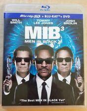 Men in Black 3 Mib Blu Ray 3D + Dvd Movie