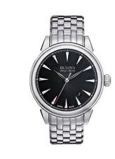 Bulova Accu-Swiss Gemini 63B174 Swiss Made Automatic Men's Classic Watch NEW