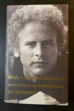 """ART GARFUNKEL ✎AUTOGRAPHED✎""""WHAT IS IT ALL ABOUT LUMINOUS""""  SIGNED NEW BOOK 2017"""
