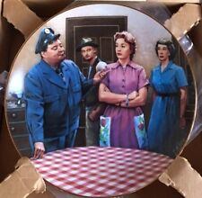The Honeymooners Plate approved by Jackie Gleason presented by Hamilton Coa