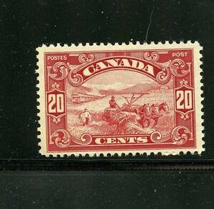 Canada #157 (CA434) Harvesting Wheat 20c dark carmine, MNH, FVF, CV$120.00