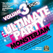 DMC Ultimate Party Monsterjam Vol 3 Continuous mixed DJ CD