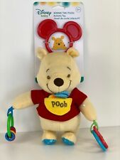 Disney Baby Plush Winnie the Pooh Activity Soft Toy (Promotes Exploration)