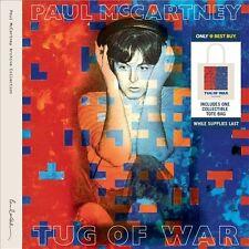 PAUL McCARTNEY Tug Of War 2 CD Set + TOTE BAG NEW best buy