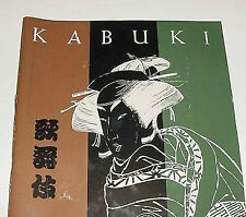 Kabuki Theater of Japan Souvenir Program 1969