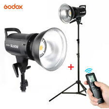 Godox SL-60W Studio LED Video Light Bowens Mount White Version with Light Stand