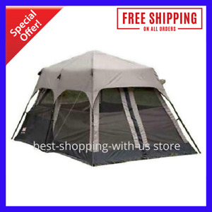 8 Person Waterproof Camping Tent  Rainfly Accessories Outdoor Shelter Hiking New