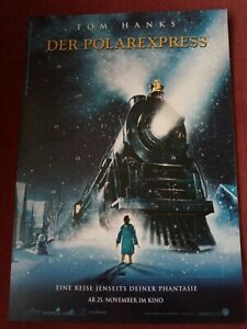 Rare German The Polar Express Advent calendar with images from the movie 2004