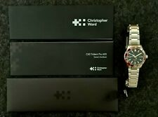 Christopher Ward C60 Trident Pro 600 42mm - Brand New - Red/Black