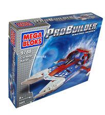 Mega Bloks Pro Builder 9788 - Cyclone Racer 565 Teile 8+ - Neu