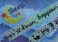 ACEO Sticker Collage Cardmaking Scrapbook Abstract Folk Outsider Autism Pop Art