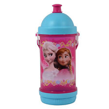 Brand New Licensed Disneys Frozen Elsa & Anna Children's Sip 'n' Snack Canteen