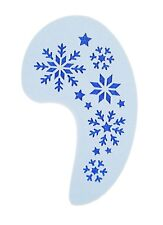 Large Snowflakes Frozen Face Painting Stencil approx 12cm x 8cm  Reusable