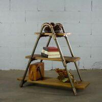 Charleston Industrial vintage  32-inch Decorative 3-Shelf Display Pipe Bookca...