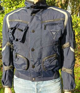 Dainese Dry Line Gore-Tex blue motorbike jacket size 8-10 Spotless worn 3 times.