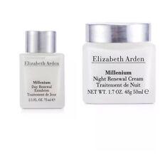 Elizabeth Arden Millenium Day Cream 2.5 oz Night Cream 1.7 oz Renewal 2 Pc Set