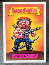2018 GARBAGE PAIL KIDS INSERT CARD CLASSIC 80'S STICKER # 4A of 10 WARRIN WARREN