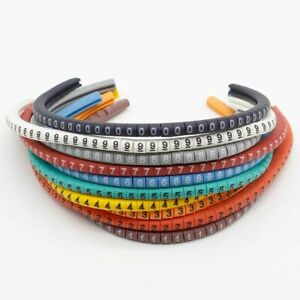 Cable Wire Ties Marker Labels Management Tags Identification Tool Organizer Cord