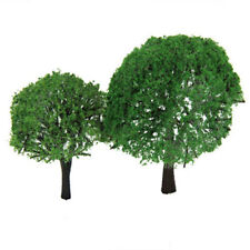 2pcs Trees Model Train for Wargame Railroad House Park Setting Scenery Landscape