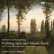 Fruehling Laesst Sein Blaues Band-Secular Choral W, New Music