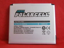 PolarCell Akku Li-Ion 1300mAh BA-S400 BB81100 für HTC Touch HD2 T8585 etc.  *C*