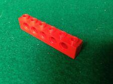 LEGO TECHNIC (3894) 1x6 - ROSSO ROT RED , 1 Mattoncino Brick