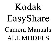 Kodak EasyShare Digital Camera Manual Guide Z ZD Series