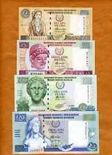 CYPRUS, Set 1;5;10;20 P-60;61;62;63 UNC > last pre-Euro