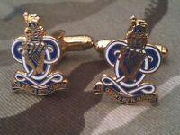 Queens Royal Hussars Military Cufflinks