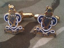 Queens Royal Hussars Military Cufflinks