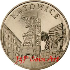 2010 Coin of Poland 2zl Cities in Poland - Katowice