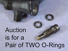 PAIR of 1980-1984 XS650  Carb Float Bowl Drain Screw O-RINGS o-ring 214-14147-00
