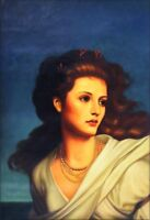 Quality Hand Painted Oil Painting Repro Sir Frank Dicksee Miranda 24x36in