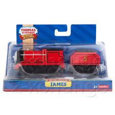 MOTORIZED JAMES BATTERY-POWERED Thomas Wooden Engine Train NIB