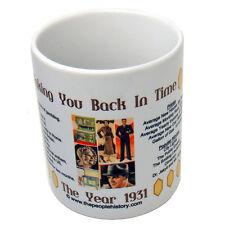 1931 Coffee Mug Includes Gift Box Born In 1931 Gift
