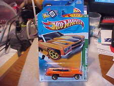 Hot Wheels 2012 Treasure Hunt #15 '70 Chevy Chevelle Convertible